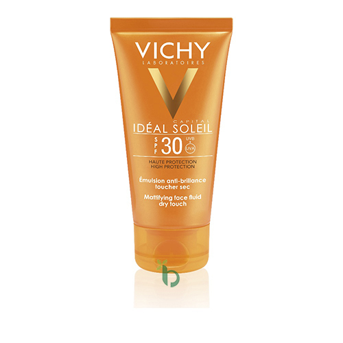 Vichy Ideal Soleil Mattifying Face Fluid Dry Touch SPF30