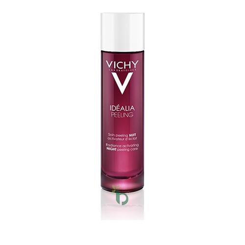 Vichy Idealia Peeling Απολέπιση Νυχτός για Λάμψη, Πρώτες Ρυτίδες και Λεπτές Γραμμές 100ml