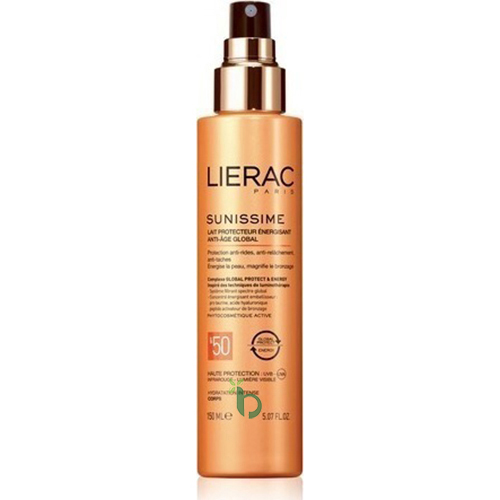 LIERAC SUNISSIME Anti-Age Global SPF50 150ml