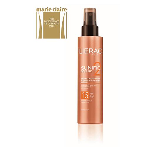 Lierac SUNIFIC 2 BRUME LACTEE CORPS SPF 15, 150ml