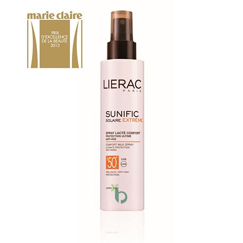 Lierac Sunific Extreme Spray Lacte Confort SPF50+, 150ml