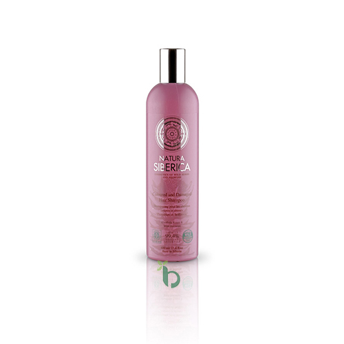 NS Coloured and Damaged Hair Shampoo, 400 ml