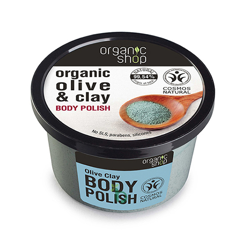 ORGANIC SHOP Body polish Olive Clay Scrub 250ml