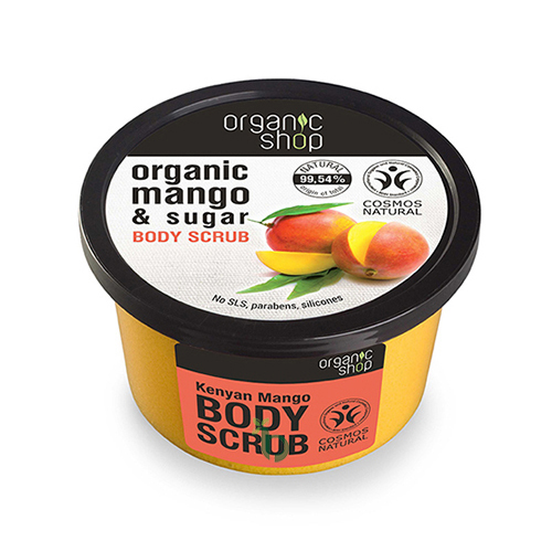 ORGANIC SHOP Body scrub Kenyan Mango 250ml
