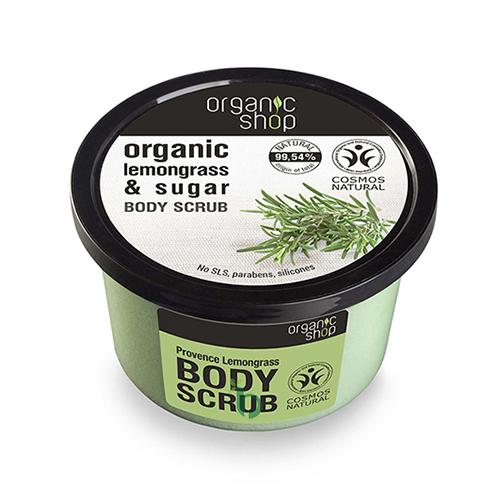ORGANIC SHOP Body scrub Provancal Lemongrass