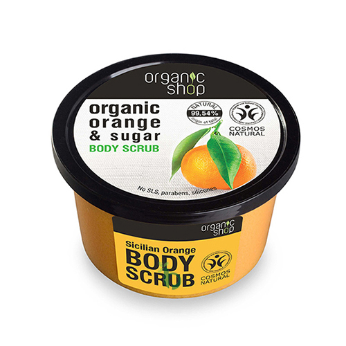 ORGANIC SHOP Body scrub Sicilian Orange 250ml