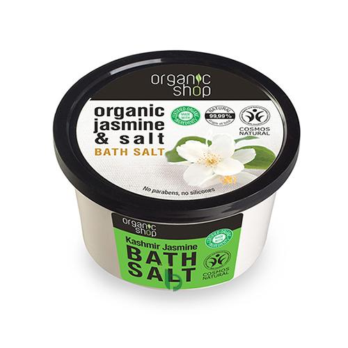 Organic Shop Άλατα Μπάνιου Kashmir Jasmin, 250 ml
