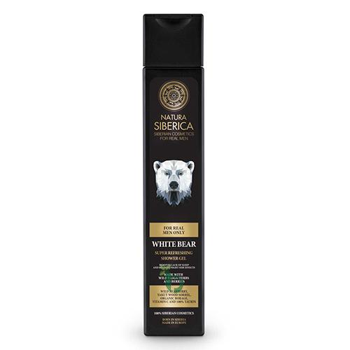 NS MEN Shower Gel White Bear, Αφρόλουτρο, 250 ml