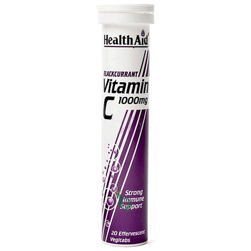Health Aid Vitamin C – Φραγκοστάφυλο, 1000mg 20 Δισκία