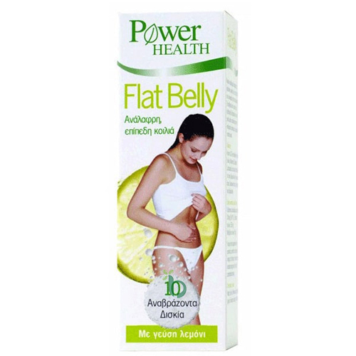 Power Health Flat Belly Συμπλήρωμα για Ανάλαφρη & Επίπεδη Kοιλιά 10 Αναβράζοντα Δισκία