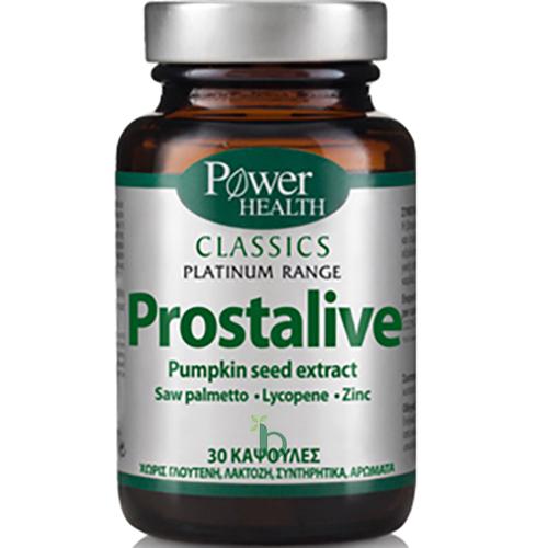 Power Health Classics Platinum Prostalive Συμπλήρωμα Διατροφής για την Ομαλή Λειτουργία του Προστάτη 30Caps