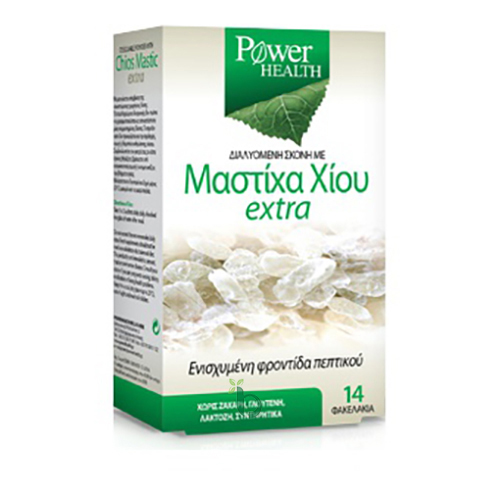 Power Health Chios Mastic Extra Μαστίχα Χίου Διαλυόμενη Σκόνη 14 Φακελάκια