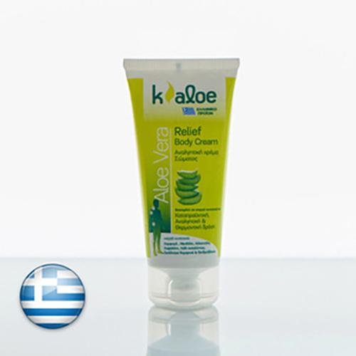 Kaloe Relief Body Cream Αναλγητική Κρέμα Σώματος Aloe Vera 50ml