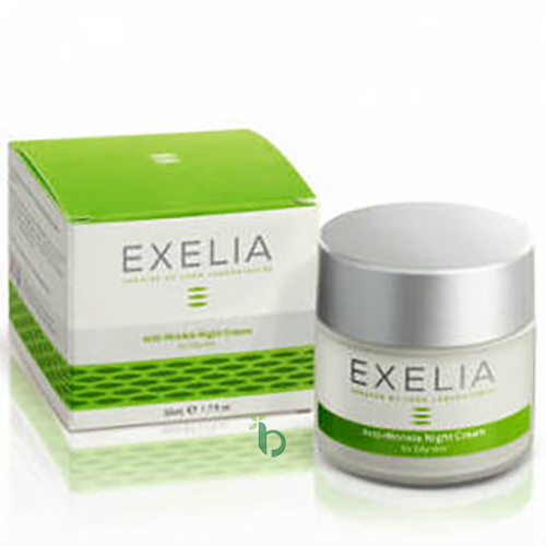 Exelia Anti-Wrinkle Night Cream for Oily Skin 50ml