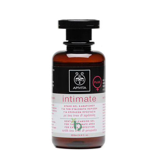 Apivita Intimate Plus Απαλό Gel Καθαρισμού 200ml
