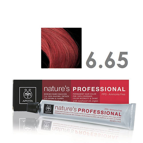 APIVITA NATURE`S PROFESSIONAL 6.65 ΚΟΚΚΙΝΟ