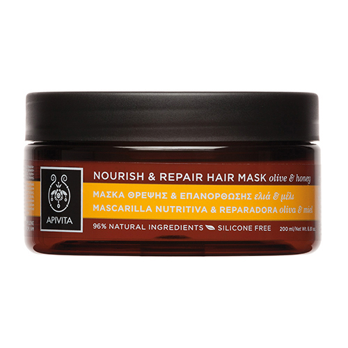 Apivita Nourish & Repair Hair Mask Olive & Honey, 200ml