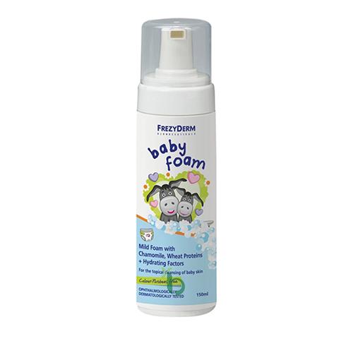 Frezy Baby Foam – Απαλός Αφρός Με Χαμομήλι 150ml