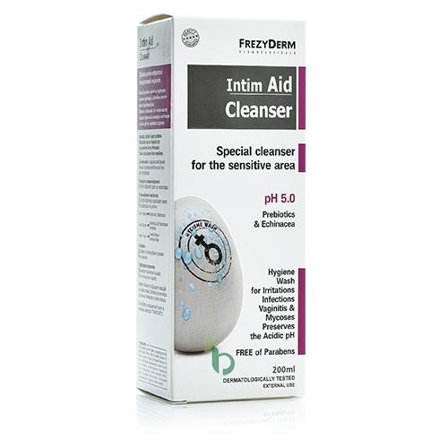 Frezyderm Intim Aid Cleanser Liquid PH5, 200ml