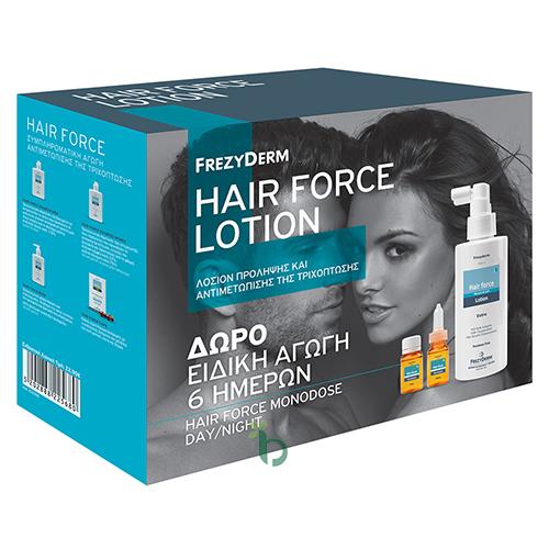 Frezyderm Promo Hair Force Lotion Extra, 100ml + ΔΩΡΟ 6 Hair Force Monodose
