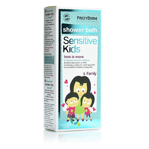 Frezyderm Sensitive Kids Shower Bath, 200ml
