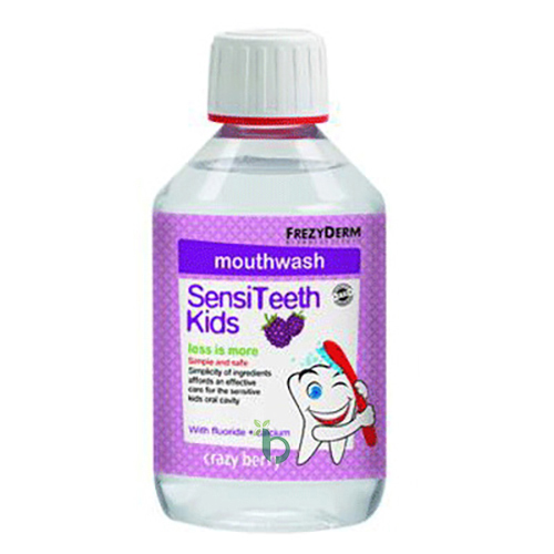 Frezyderm SensiTeeth Kids Mouth Wash 250ml