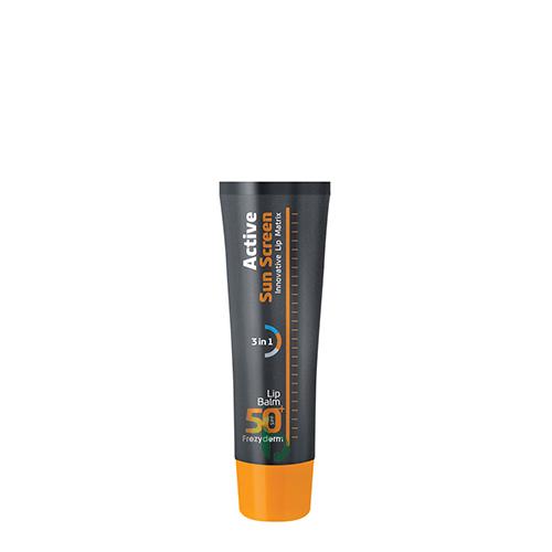 Frezyderm Active Sun Screen Lip Balm SPF50+ 15ml