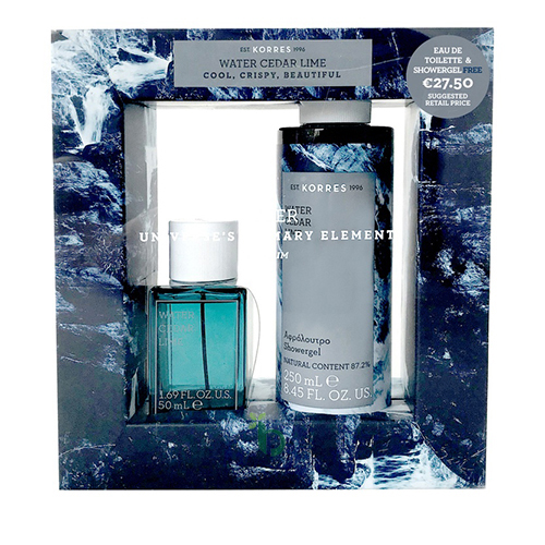 Korres Promo Eau de Toilette 50ml & Shower Gel 250ml