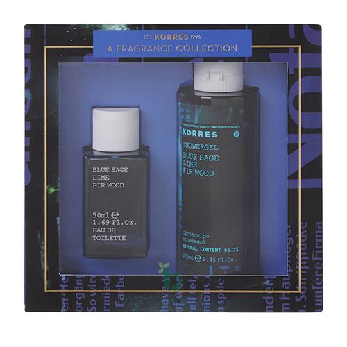 Korres Promo Ανδρικό Άρωμα Blue Sage & Αφρόλουτρο