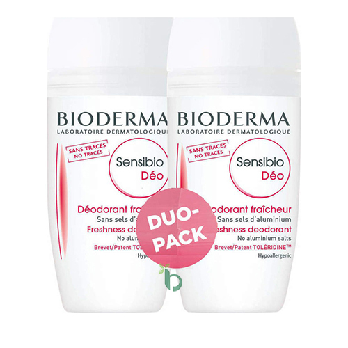 Bioderma Promo Sensibio Deodorant Roll-On 2x50ml, -50% στο 2ο Προιόν