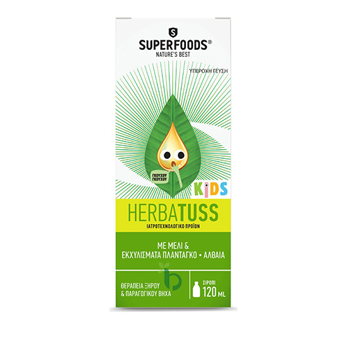 Superfoods Herbatuss Kids Syrup 120ml