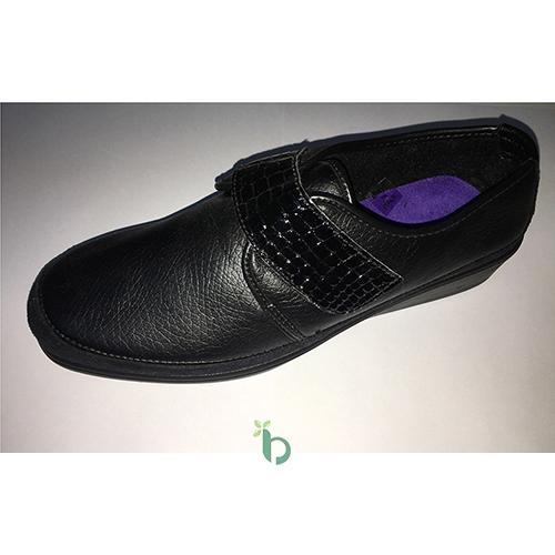 ROMA Ανατομικό Γυναικείο Παπούτσι Δέρμα Μαύρο Νο.38