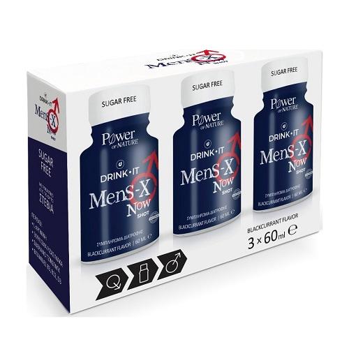 Power Health Drink It Mens X Now 3X60ml
