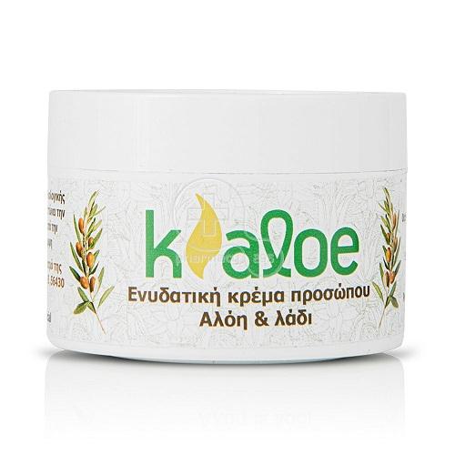 KALOE – Ενυδατική Κρέμα με Αλόη & Ελιά – 100ml