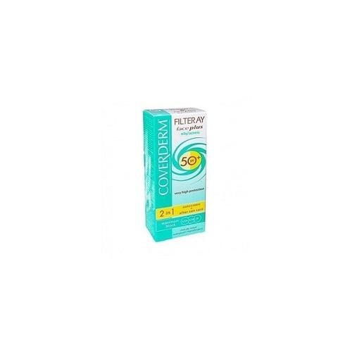 Coverderm Αντηλιακή Κρέμα Προσώπου Oily/50spf