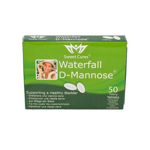 Fytoiasis Waterfall D-Mannose 1000mg 50tabs – Μαννόζη Σε Ταμπλέτες Για Τη Θεραπεία Ουρολοιμώξεων