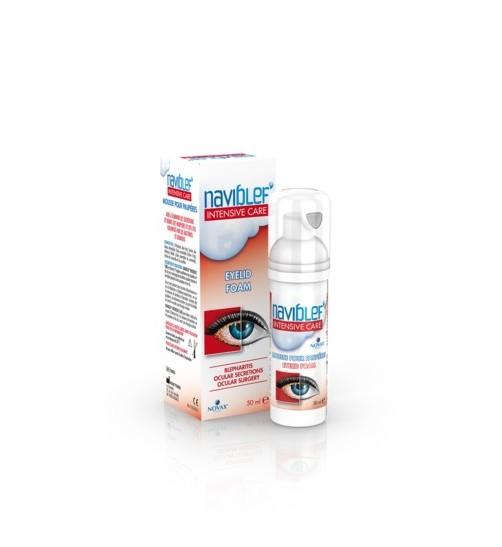Novax Pharma Naviblef Intensive Care Αφρός Βλεφάρων 50ml